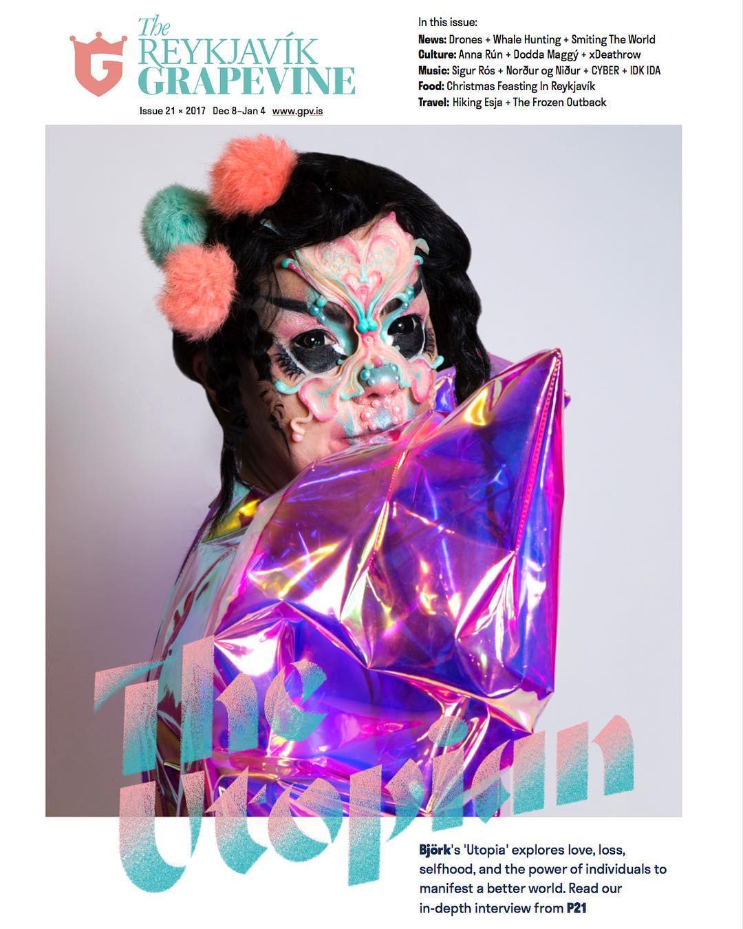 The Reykjavik Grapevine Björk (2017)