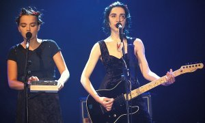 Photo Brit Awards (avec PJ Harvey)