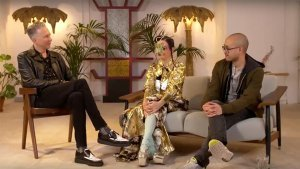 Video Björk and Andrew Thomas Huang in conversation with Jefferson Hack