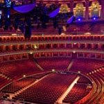 Concert au Royal Albert Hall à Londres