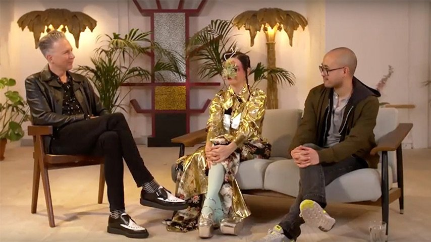 Björk and Andrew Thomas Huang in conversation with Jefferson Hack
