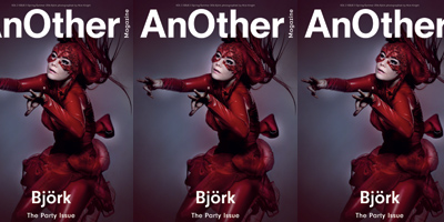 Björk en couverture d'AnOther Magazine